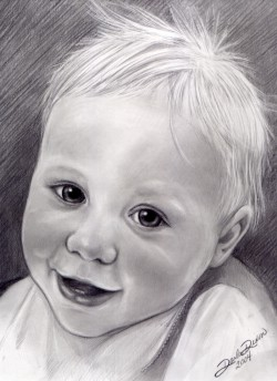 Boy Pencil Portrait